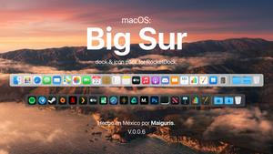 macOS BigSur For RocketDock