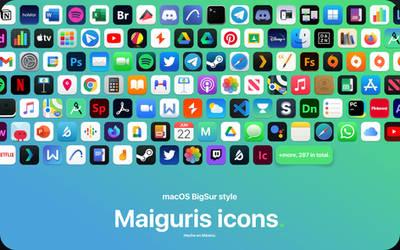macOS Big Sur Maiguris Icons