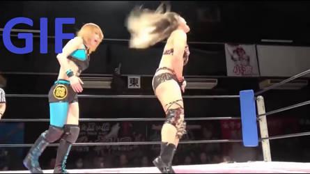 Io Shirai got cuntbust (GIF)