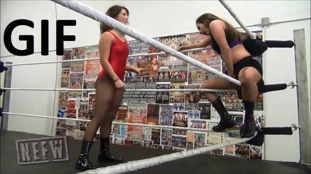 Sarah Logan vs Tessa Blanchard Low Blows (GIF)