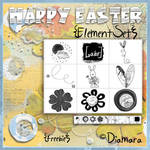 Happy Easter ElementSet Free