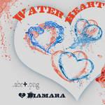 Water Heart Free ArtBrushSet