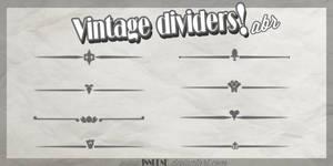 Vintage Dividers .abr