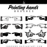 Pointing Hands brushes