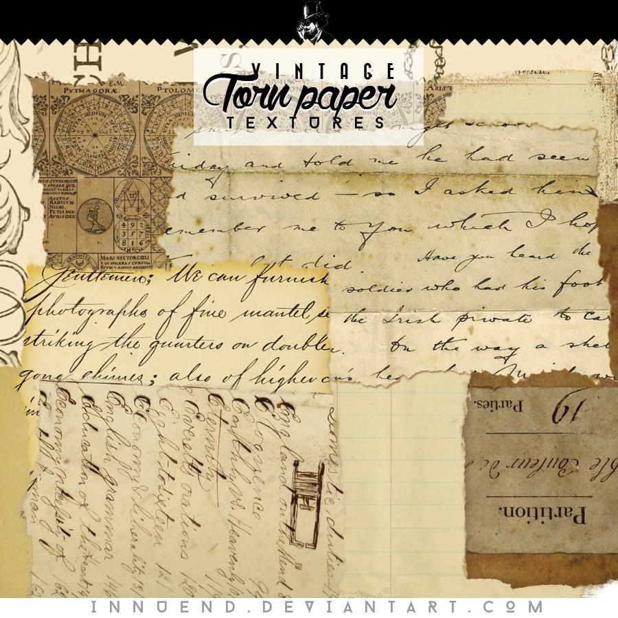 Torn Paper Textures By Innuend On DeviantArt