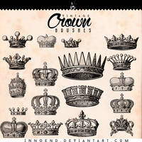 Crown brushes by Innuend