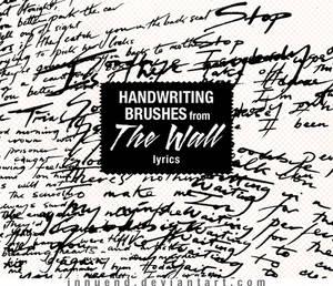 Handwriting brushes Vol. 01