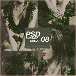 PSD Coloring 08 - Emerald collar