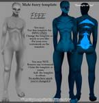  IMVU FREE Furry Male Template FILE
