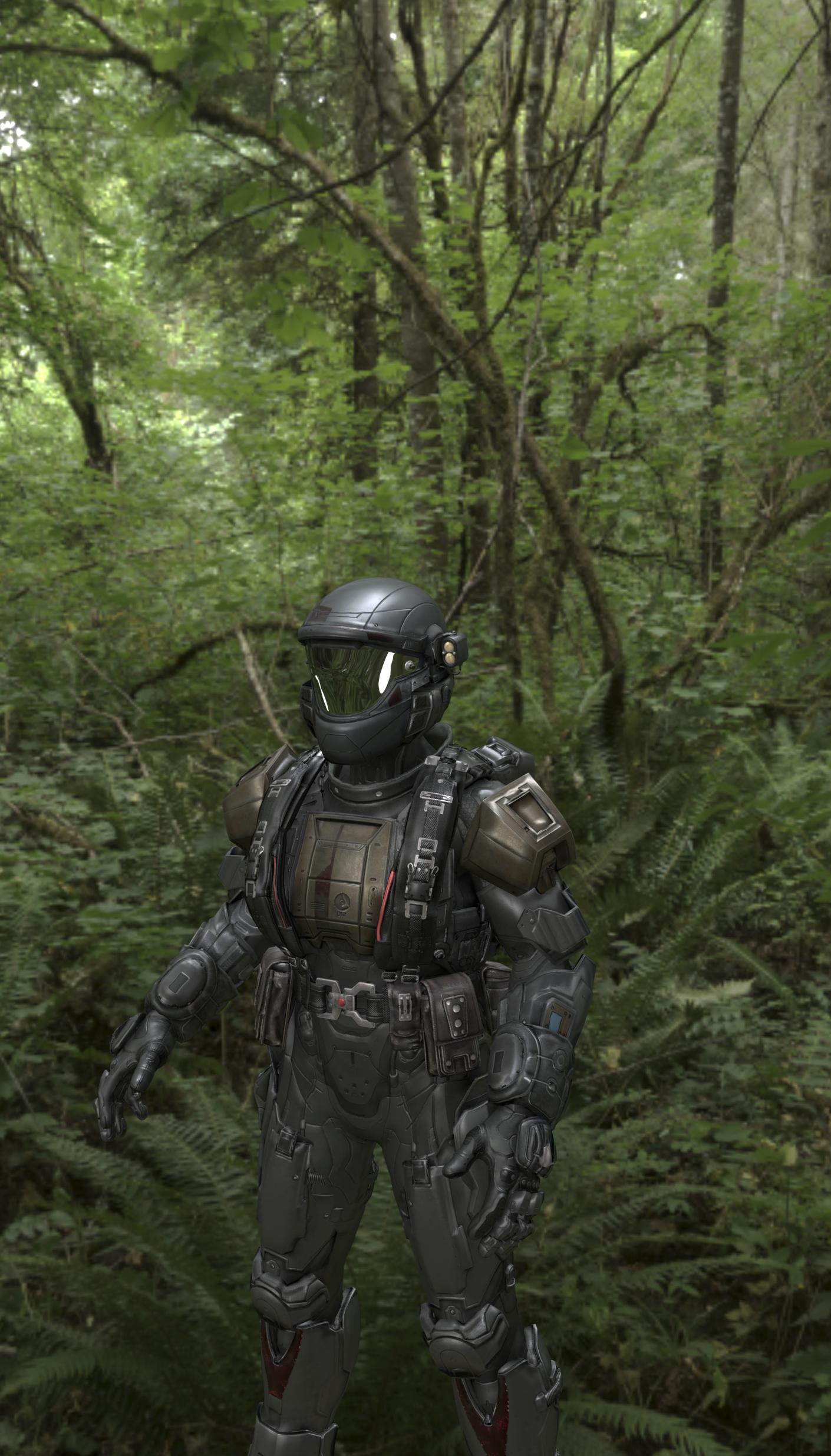 Halo Nightfall Armor By Wolffire1010 On Deviantart