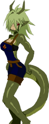 Moshu daughter of Shendu by YukiDeidara