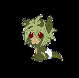 MLP Baby Moshu (daughter of Shendu and Yoyo) by YukiDeidara