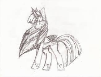 Sketch Adult Twilight by YukiDeidara