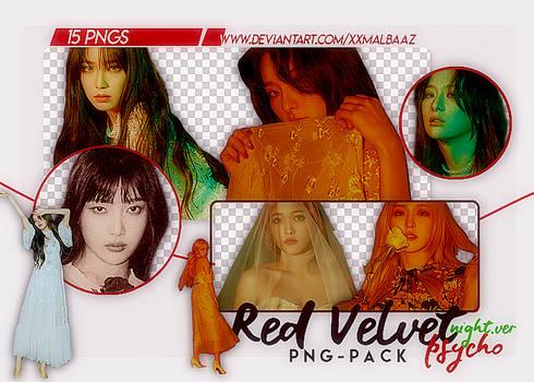 [PNG PACK] Red Velvet (Psycho - Night Ver.)