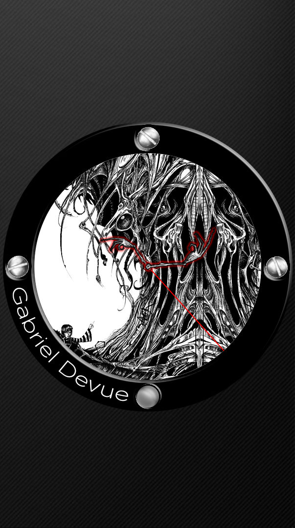 Gabriel Devue Clock updated