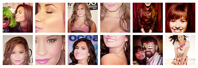 12 demi's icons by exclusivestyle