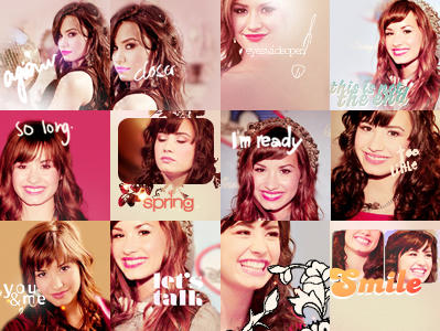 12 demi lovato icons by exclusivestyle