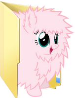 Fluffle Puff Folder Icon by Liny-An