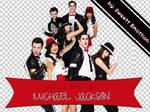 PNG Glee Michael Jackson