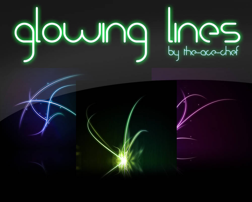 Glowing Lines Pack