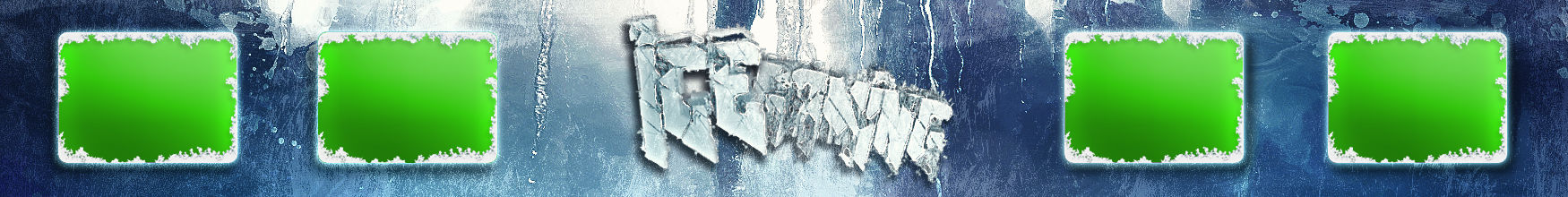Ice Gaming Banner