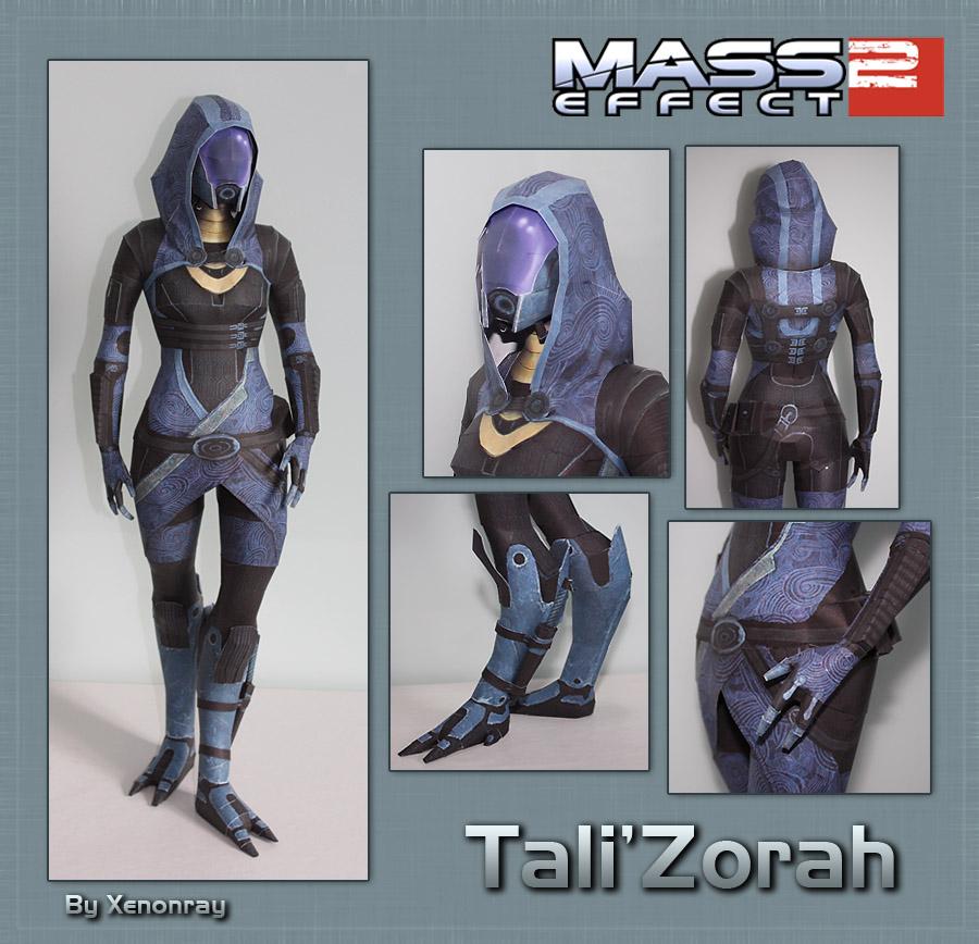 Tali Papercraft Download
