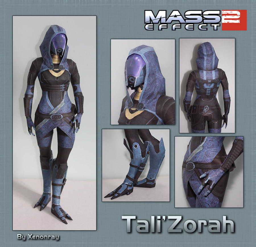 Tali Papercraft Download by XenonRay