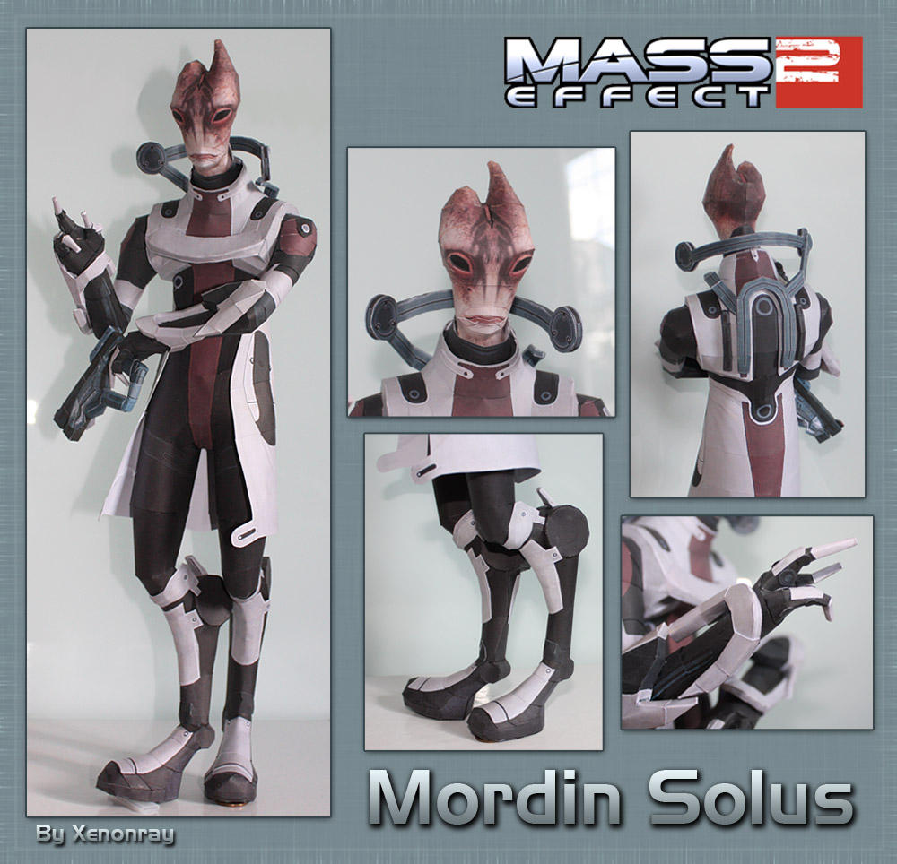 Mordin Papercraft Download by XenonRay