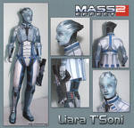 Liara Papercraft Download