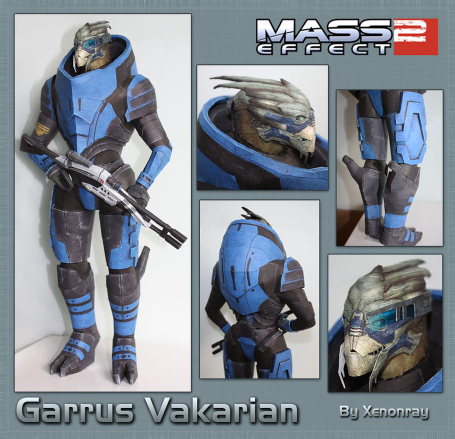 Garrus Papercraft Download by XenonRay
