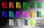 Windows 7 ColoredGlass Folders