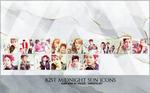 B2ST Midnight Sun Icons