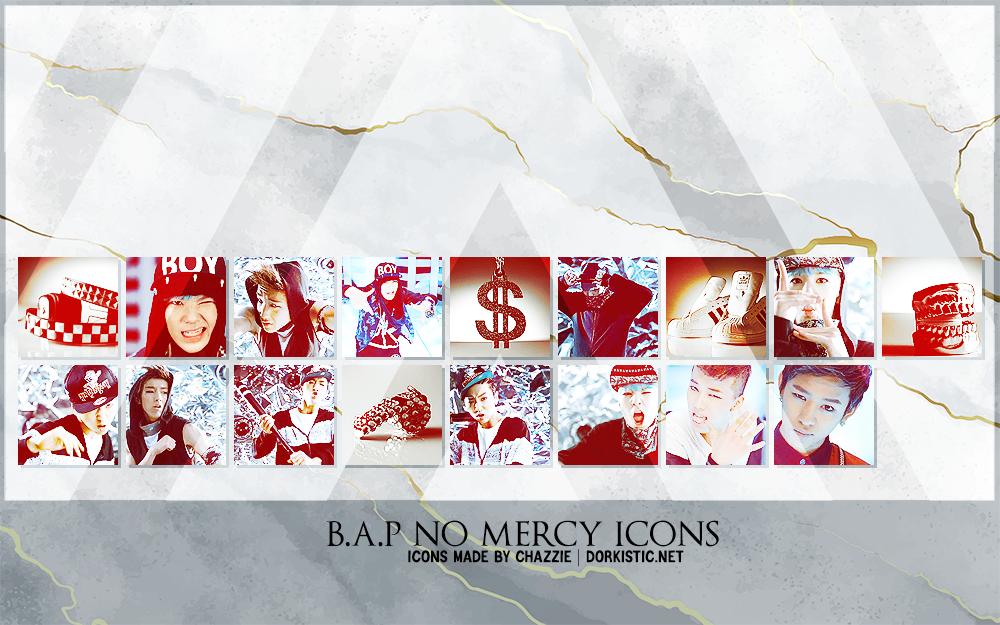B.A.P No Mercy Icons