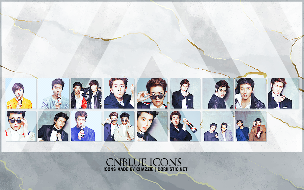 CNBLUE Icons