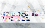 EXO Lottle Icons by DorkisticDesign