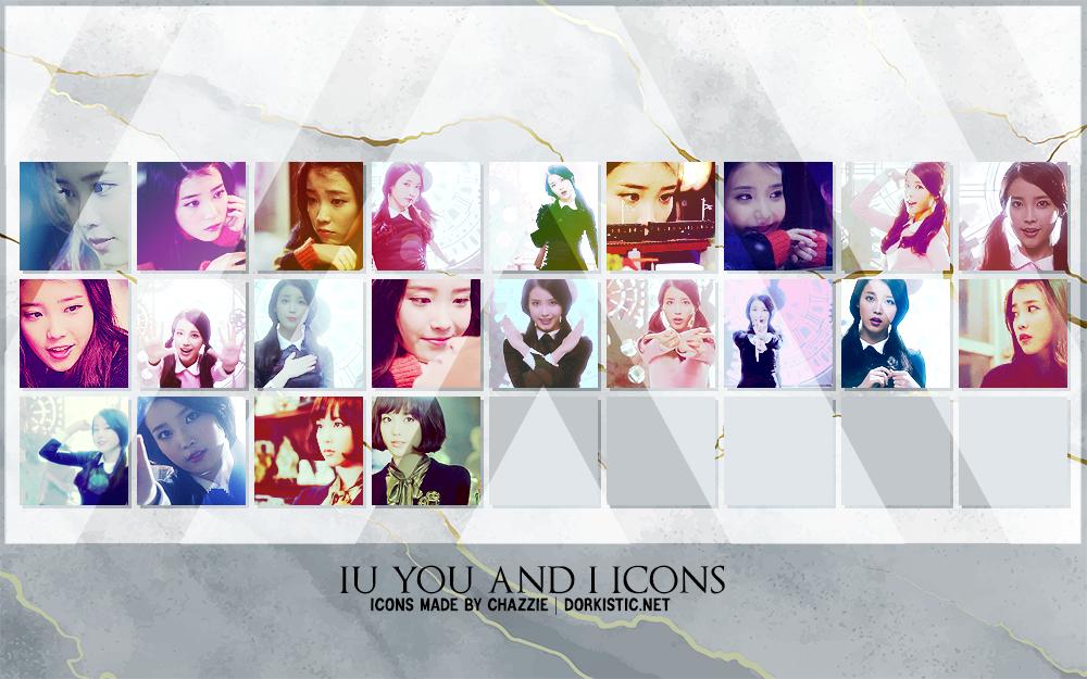 IU You and I Icons