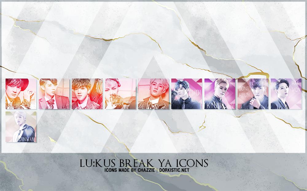 LU:KUS Break Ya Icons