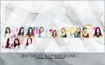 Red Velvet Happiness Icons