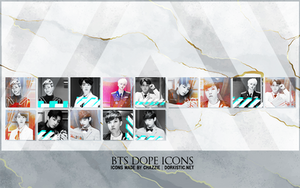 BTS Dope Icons