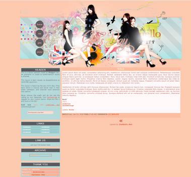 Blogger Layout: Something
