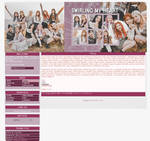 Blogger Layout: Swirling My Heart