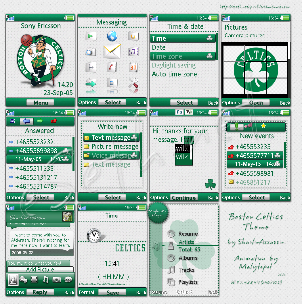 Boston Celtics theme by ShaolinAssassin