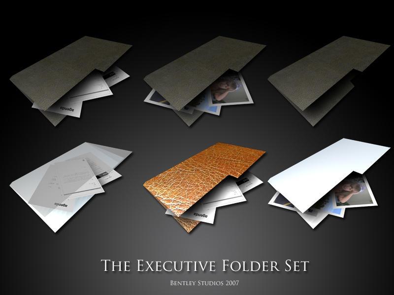Executive Folders by thebigbentley