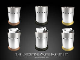 Executive Waste Baskets by thebigbentley