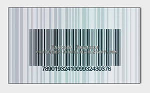 Barcode by photoshop-stock