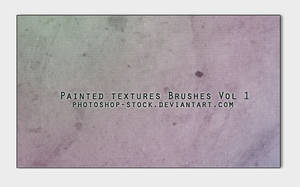 Painted Textures Brushes by photoshop-stock