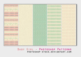 Baby Girl - Photoshop Patterns by photoshop-stock
