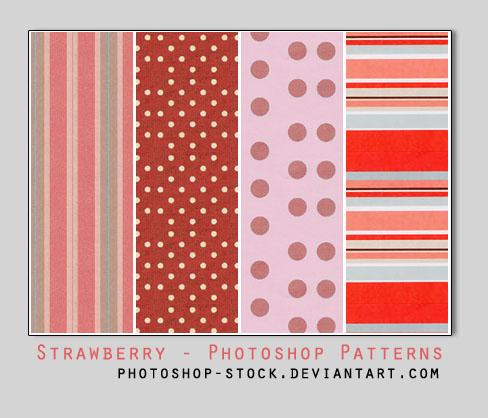 Strawberry Pie - PS Patterns by photoshop-stock on DeviantArt