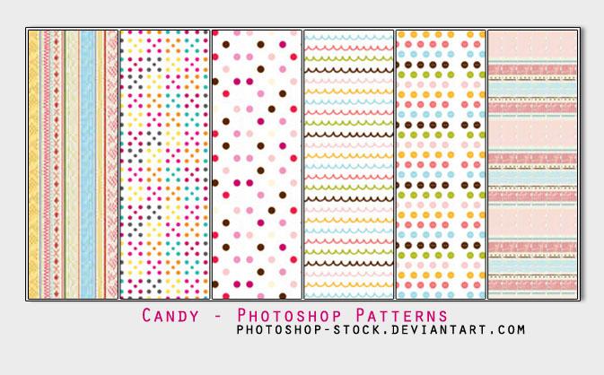 Candy - Photoshop Patterns