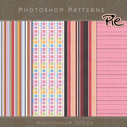 Pie - Photoshop Patterns